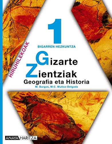9788466718189: Geografia eta Historia 1.