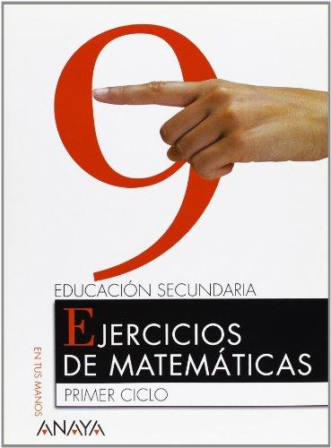9788466719230: Matemáticas 2º ESO - Cuaderno 9