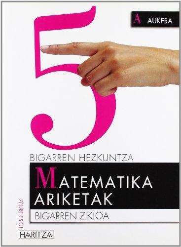 Dbh 4 - Matematika Ariketak 5: Batzuk