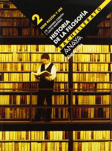 9788466722384: Historia de la filosofía, 2 Bachillerato (Andalucía)