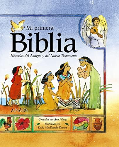 9788466724197: Mi Primera Biblia/The Kingfisher Childern's Bible: Historias del antiguo y del nuevo testamento/Stories of the old and new testament (Spanish Edition)