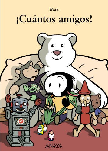 9788466725460: ¡Cuántos amigos! (Primeros Lectores (1-5 Años) - Mi Primera Sopa De Libros)