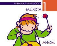 9788466728508: Musica 1ºep Mec 2004