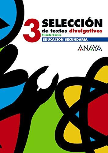 9788466752572: Selección de textos divulgativos 3.