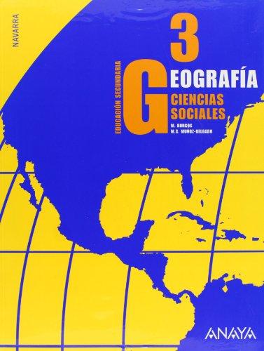 9788466760898: Geografía, 3 ESO (Navarra)