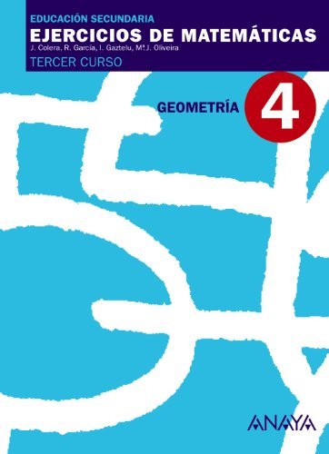 9788466761161: 4. Geometría 3º ESO
