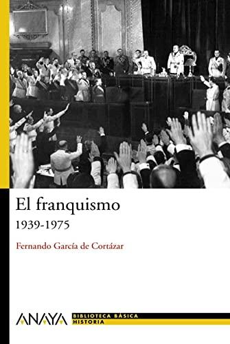 9788466763189: El franquismo/ Franco's Regime: 1939-1975 (Biblioteca Basica De Historia/ Basic Library of History) (Spanish Edition)