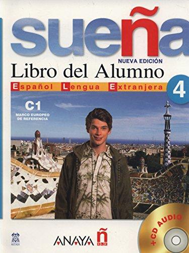 9788466763714: Suena 4. Libro del Alumno C1. Marco europeo de referencia + CD Audio (Spanish Edition)