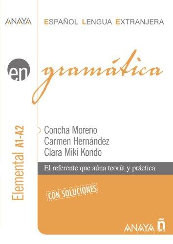 Grammatica Nivel Elemental A1-A2: Perez, Clara Miki