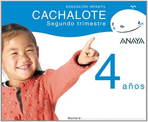 9788466765411: Cachalote 4 años. Segundo trimestre.