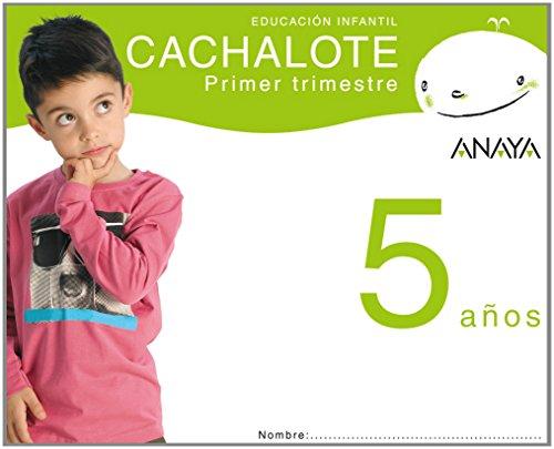 9788466765466: Cachalote 5 años. Primer trimestre.: Ed.Infantil. T.Autonomias. Campaña 2008