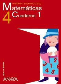 9788466766517: Matemáticas 4. Cuaderno 1. (Abre la puerta)