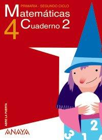 9788466766524: Matemáticas 4. Cuaderno 2.