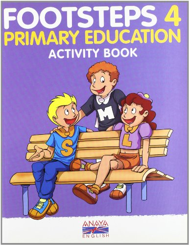 9788466767644: Footsteps 4. Activity Book.