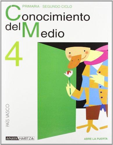 Conocimiento Del Medio 4.(Euskadi): Valbuena Pradillo
