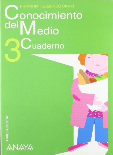 9788466770095: Conocimiento del Medio 3. Cuaderno. (Abre la puerta)
