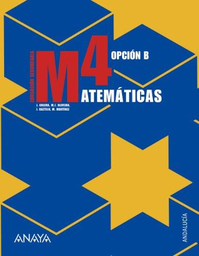 9788466771702: Matemáticas, 4 ESO, opción B (Andalucía ...
