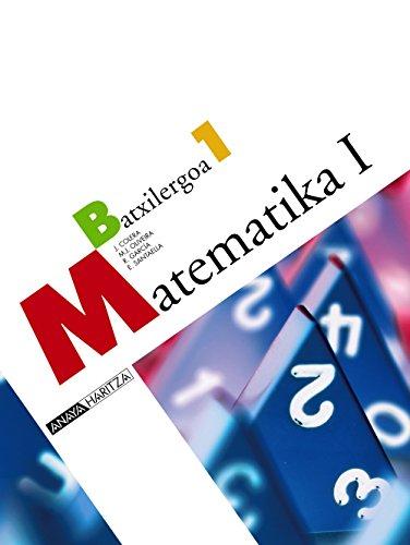 9788466774338: Matematika I.