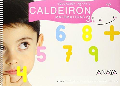 9788466775434: Matemáticas 3. 5 Años Educación Infantil. Cuaderno del Alumno. Galicia