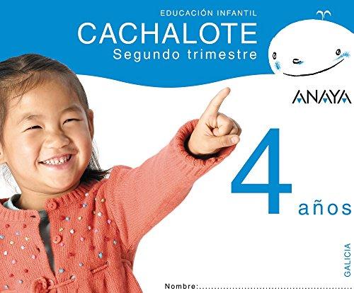 9788466776158: Cachalote 4 años. Segundo trimestre.