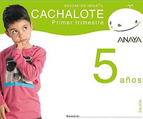 9788466776172: Cachalote 5 años. Primer trimestre.