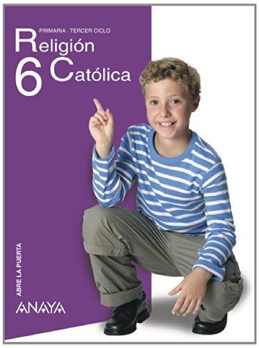 9788466780186: Religión Católica 6. (Abre la puerta)