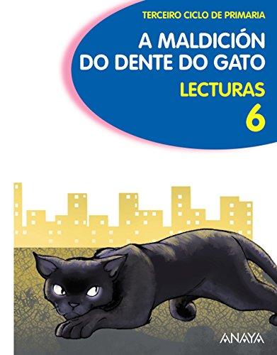 9788466780933: Lecturas 6: A maldición do dente do gato.