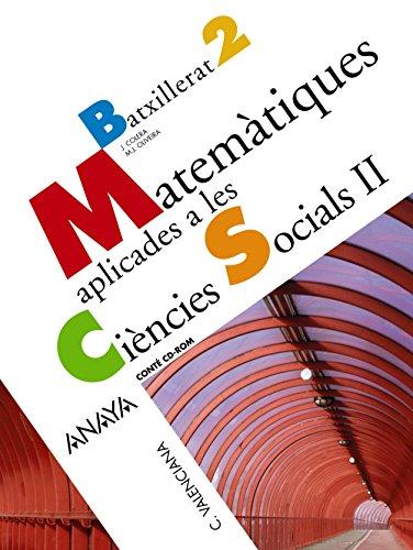 9788466783453: Matemtiques aplicades a les Cincies Socials II.