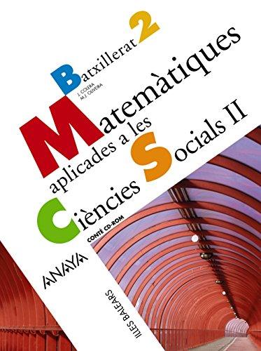 9788466783668: Matemàtiques aplicades a les ciències socials II.