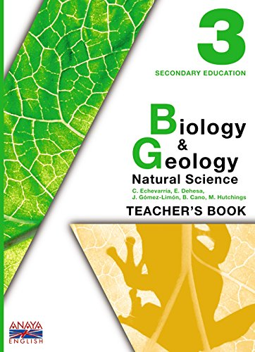 9788466787437: Biology and Geology 3. Teacher ' s Resources.