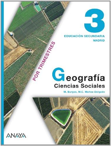 9788466787772: Geografía 3. 3º Educación Secundaria Obligatoria. Libro del Alumno. Madrid
