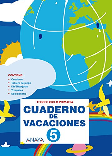 9788466788335: Cuaderno de Vacaciones 5.
