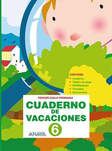 9788466788342: Cuaderno de vacaciones 6 - 9788466788342