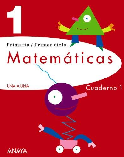9788466797917: Matemáticas 1. Cuaderno 1. (UNA A UNA)