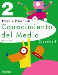 9788466798020: Conocimiento del Medio 2. Cuaderno 3. (UNA A UNA)