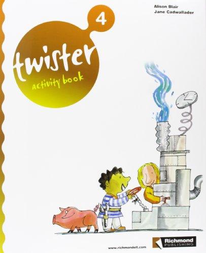 9788466806077: Twister, 4 Educación PriMaría. Activity book