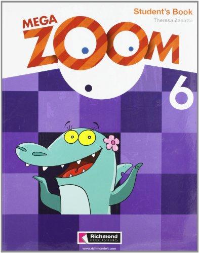 9788466806893: Mega Zoom, 6 Educación PriMaría. Student's book