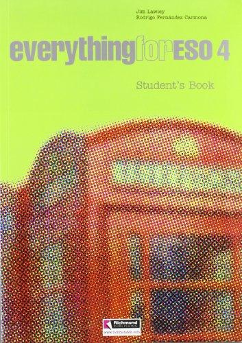 07).everything 4o.eso (student's book): Lawley, Jim/Fernandez Carmona,