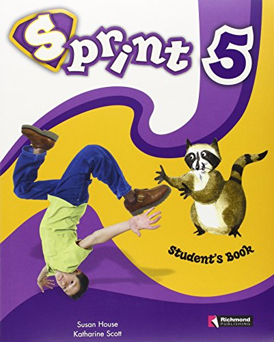 9788466808248: Sprint 5 Student's Book & CD & Cut-Outs (British English) In