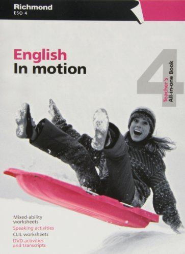 9788466811132: In Motion All-In-One Book 4 (English in Motion) - 9788466811132