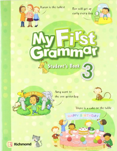 9788466811309: My First Grammar 3 Student s Book Pack