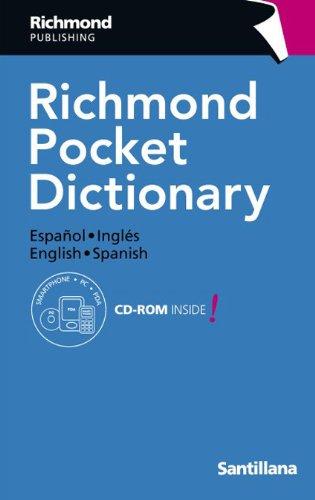 Richmond pocket dictionary. (Con Cd-Rom) Español-ingles; english - spanish: Richmond ...
