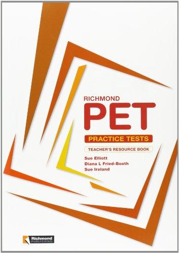 9788466812979: Richmond Pet Practice Tests Teacher´S Resource Book Richmond (Richmond Exam Practice Tests) - 9788466812979