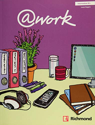 9788466814058: @work Intermediate Student's Book with access code