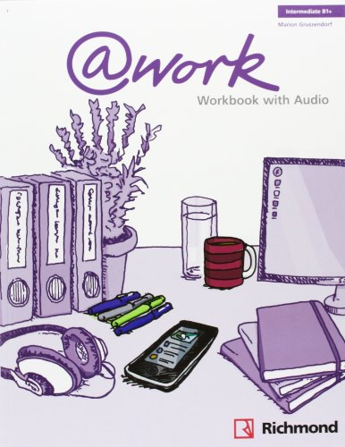 9788466814065: @WORK 3 WORKBOOK+CD INTERMEDIATE [B1+] - 9788466814065