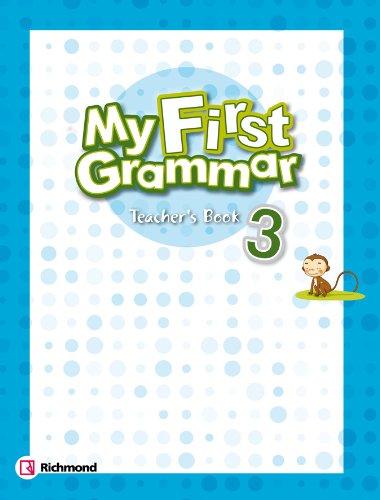 9788466815024: My First Grammar Teacher´S Book 3 Richmond - 9788466815024