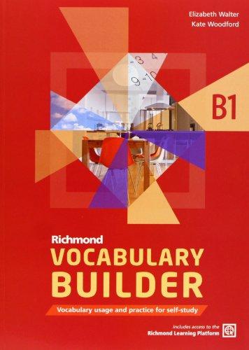 9788466815260: Richmond Vocabulary Builder B1 Student's Book & Access Code