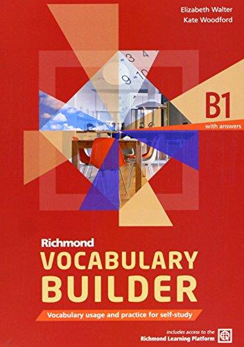 9788466815277: Richmond Vocabulary Builder B1 Student's Book & Answers & Ac