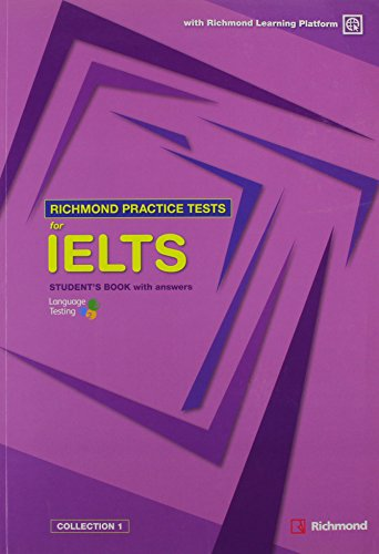 9788466817455: RICHMOND IELTS PRACTICE TESTS STUDENT'S BOOK+Access code
