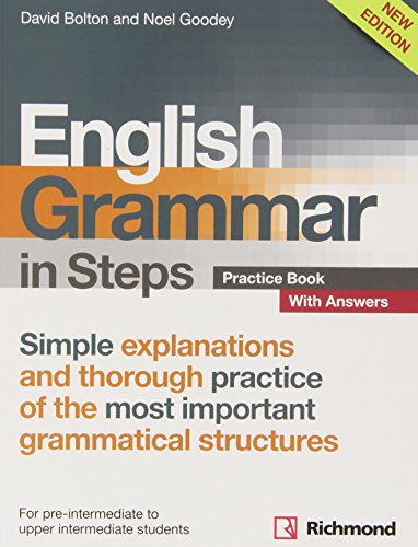 9788466817523: NEW ENGLISH GRAMMAR IN STEPS PRACTICE BOOK WITH ANSWERS - 9788466817523
